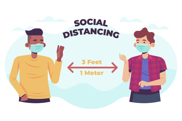 Why Social Distancing Works